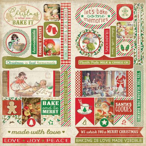 Authentique Paper - Christmas - Rejoice Collection - Elements