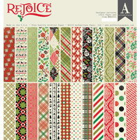 Authentique Paper - Christmas - Rejoice Collection - 12 x 12 Paper Pad