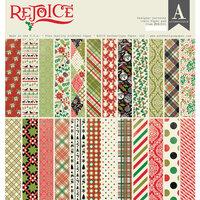Authentique Paper - Christmas - Rejoice Collection - 12 x 12 Paper Pad