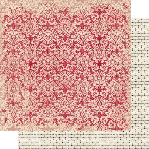 Authentique Paper - Romance Collection - 12 x 12 Double Sided Paper - Two