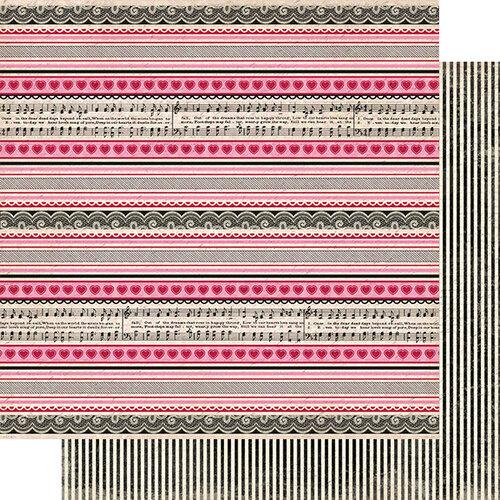 Authentique Paper - Romance Collection - 12 x 12 Double Sided Paper - Six