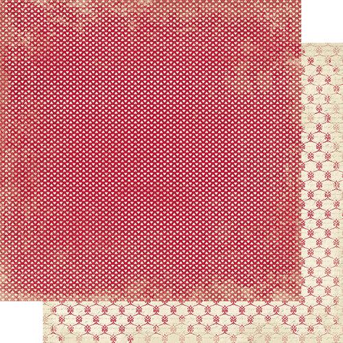 Authentique Paper - Romance Collection - 12 x 12 Double Sided Paper - Seven