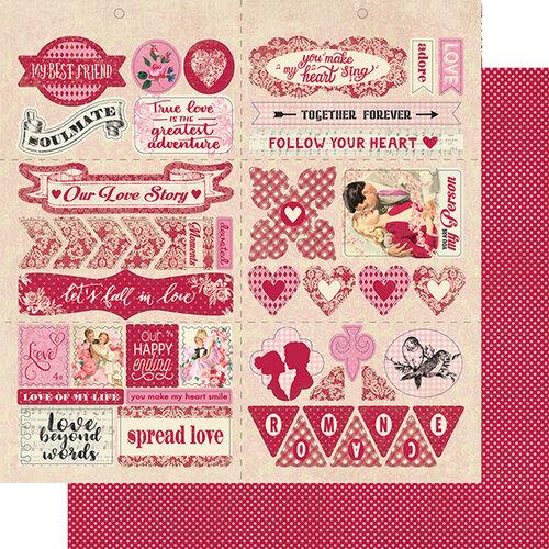 Authentique Paper - Romance Collection - Elements