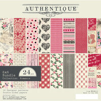 Authentique Paper - Romance Collection - 6 x 6 Paper Bundle