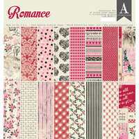 Authentique Paper - Romance Collection - 12 x 12 Collection Kit