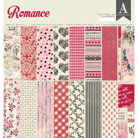 Authentique Paper - Romance Collection - 12 x 12 Paper Pad