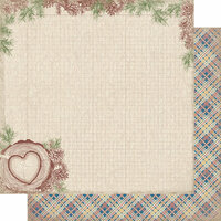 Authentique Paper - Rustic Collection - 12 x 12 Doubled-Sided Paper - One