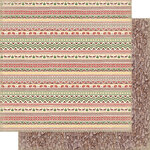 Authentique Paper - Rustic Collection - 12 x 12 Doubled-Sided Paper - Two
