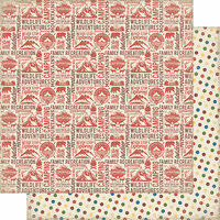 Authentique Paper - Rustic Collection - 12 x 12 Doubled-Sided Paper - Three