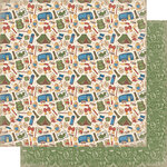 Authentique Paper - Rustic Collection - 12 x 12 Doubled-Sided Paper - Six