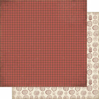 Authentique Paper - Rustic Collection - 12 x 12 Doubled-Sided Paper - Seven
