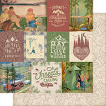 Authentique Paper - Rustic Collection - 12 x 12 Doubled-Sided Paper - Eight