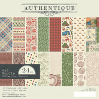 Authentique Paper - Rustic Collection - 6 x 6 Doubled-Sided Paper Pad