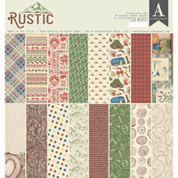 Authentique Paper - Rustic Collection - 12 x 12 Collection Kit