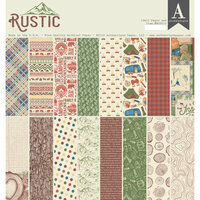 Authentique Paper - Rustic Collection - 12 x 12 Doubled-Sided Paper Pad