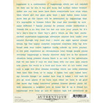 Authentique Paper - Journey Collection - Cardstock Stickers - Diction