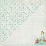Authentique Paper - Sea-Maiden Collection - 12 x 12 Double-Sided Paper - Six