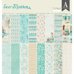 Authentique Paper - Sea-Maiden Collection - 12 x 12 Double-Sided Paper Pad