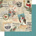 Authentique Paper - Snowfall Collection - 12 x 12 Double Sided Paper - Five