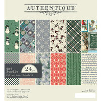 Authentique Paper - Snowfall Collection - 6 x 6 Paper Pad Bundle