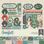 Authentique Paper - Snowfall Collection - 12 x 12 Collection Kit