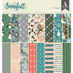 Authentique Paper - Snowfall Collection - 12 x 12 Paper Pad