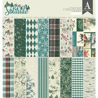 Authentique Paper - Solitude Collection - 12 x 12 Collection Kit