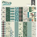 Authentique Paper - Solitude Collection - 12 x 12 Double-Sided Paper Pad
