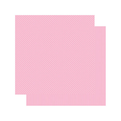 Authentique Paper - Spectrum Collection - 12 x 12 Double Sided Paper - Tickled Pink
