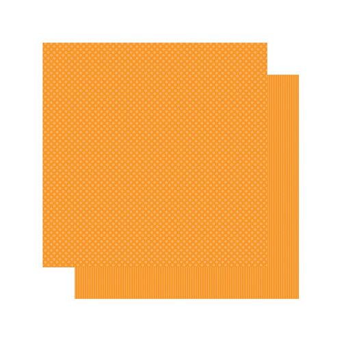 Authentique Paper - Spectrum Collection - 12 x 12 Double Sided Paper - Orange Blossom