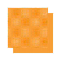 Authentique Paper - Spectrum Collection - 12 x 12 Double Sided Paper - Orange Blossom