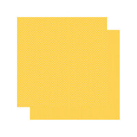 Authentique Paper - Spectrum Collection - 12 x 12 Double Sided Paper - Lemon Drop