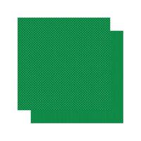 Authentique Paper - Spectrum Collection - 12 x 12 Double Sided Paper - Kelly Green