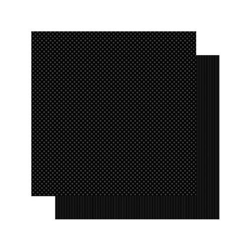 Authentique Paper - Spectrum Collection - 12 x 12 Double Sided Paper - Black Jack