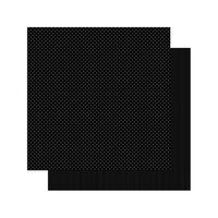 Authentique Paper - Spectrum Collection - 12 x 12 Double Sided Paper - Black Jack