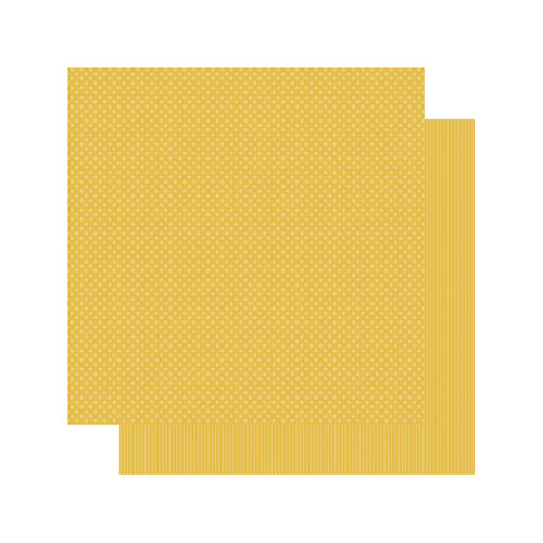 Authentique Paper - Spectrum Collection - 12 x 12 Double Sided Paper - Mustard Seed