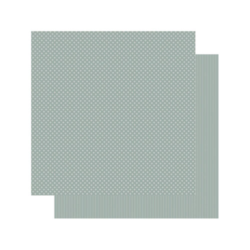 Authentique Paper - Spectrum Collection - 12 x 12 Double Sided Paper - Silver Dollar