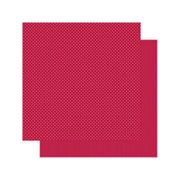 Authentique Paper - Spectrum Collection - 12 x 12 Double Sided Paper - Red Licorice