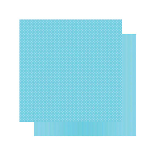 Authentique Paper - Spectrum Collection - 12 x 12 Double Sided Paper - Blue Hawaii