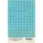 Authentique Paper - Journey Collection - Cardstock Stickers - Petite Type Circle Alphabet