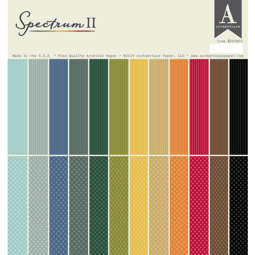 Authentique Paper - Spectrum Two - 12 x 12 Paper Pad
