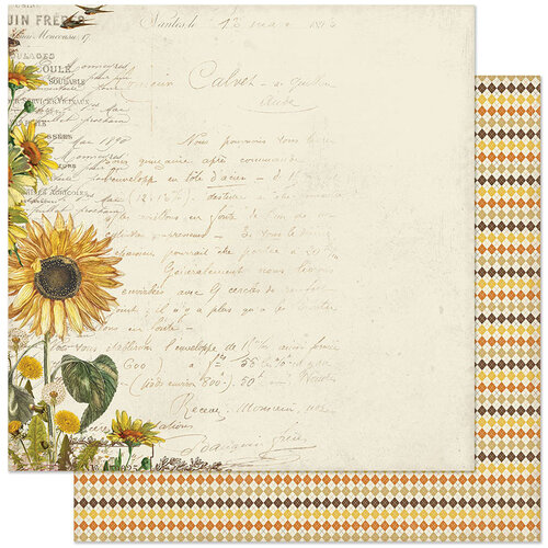 Authentique Paper - Splendor Collection - 12 x 12 Double Sided Paper - Number One