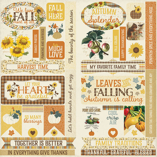 Authentique Paper - Splendor Collection - Elements