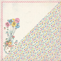 Authentique Paper - Swaddle Girl Collection - 12 x 12 Double-Sided Paper - One