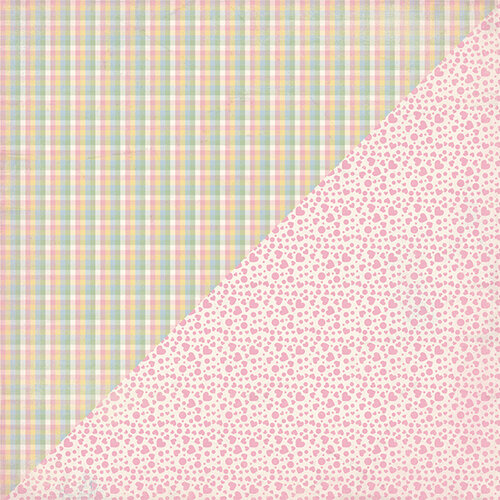 Authentique Paper - Swaddle Girl Collection - 12 x 12 Double-Sided Paper - Number Two