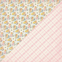 Authentique Paper - Swaddle Girl Collection - 12 x 12 Double-Sided Paper - Five