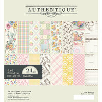 Authentique Paper - Swaddle Girl Collection - 6 x 6 Paper Pad Bundle