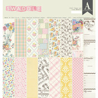 Authentique Paper - Swaddle Girl Collection - 12 x 12 Double-Sided Paper Pad