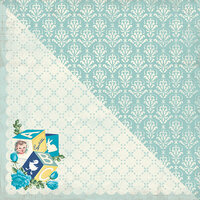 Authentique Paper - Swaddle Boy Collection - 12 x 12 Double-Sided Paper - Two