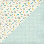 Authentique Paper - Swaddle Boy Collection - 12 x 12 Double-Sided Paper - Three